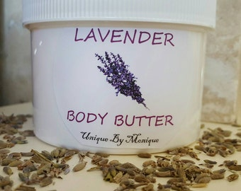 8 oz. Lavender Body Butter