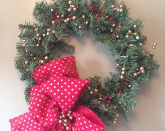 Holiday Berries wreath
