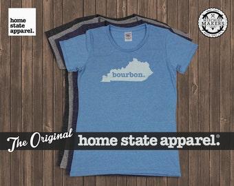 Kentucky Bourbon. Shirt- Womens Cut