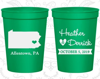 Pennsylvania Wedding Cups, Pennsylvania Stadium Cups, Pennsylvania Plastic Cups, Pennsylvania Cups, Pennsylvania Party Cups (137)