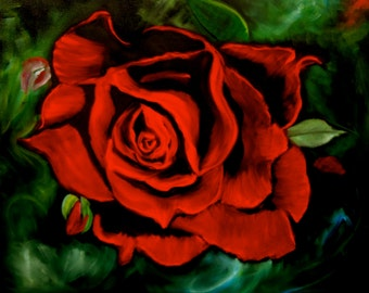 Red,Red Rose