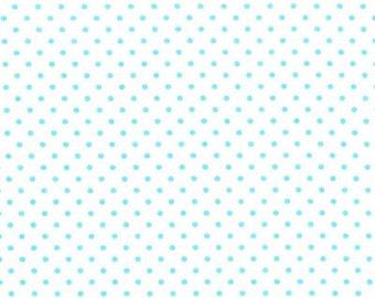 Michael Miller Fabrics - Petit Point Turquoise - SG4607-TURQ-D