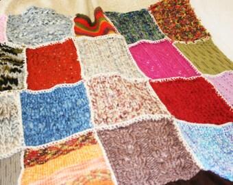 "Blankie ""knitting & patch"