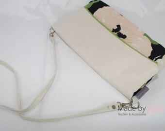 small handbag, shoulder bag, clutch, white bag, white clutch,