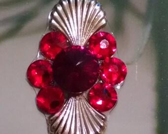 Red Crystal Bindi