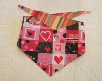 Mlg Valentine's/Water color stripes