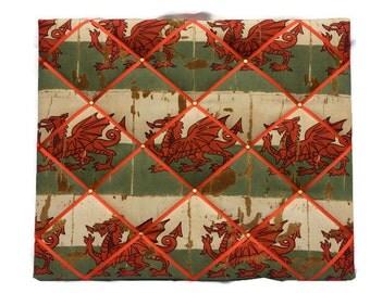 Memo Board  Welsh Flag Welsh Welsh Flag Memo Board