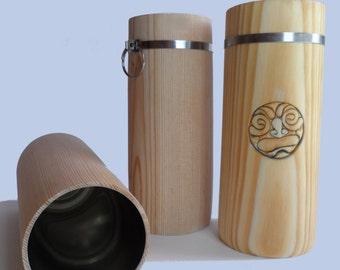 Wooden beer cups