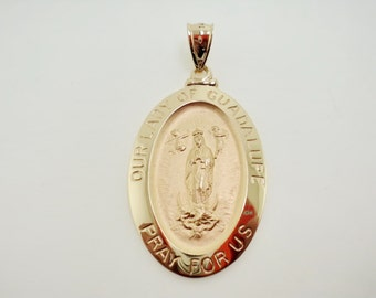 Our Lady of Guadalupe Pendant (JC-968)
