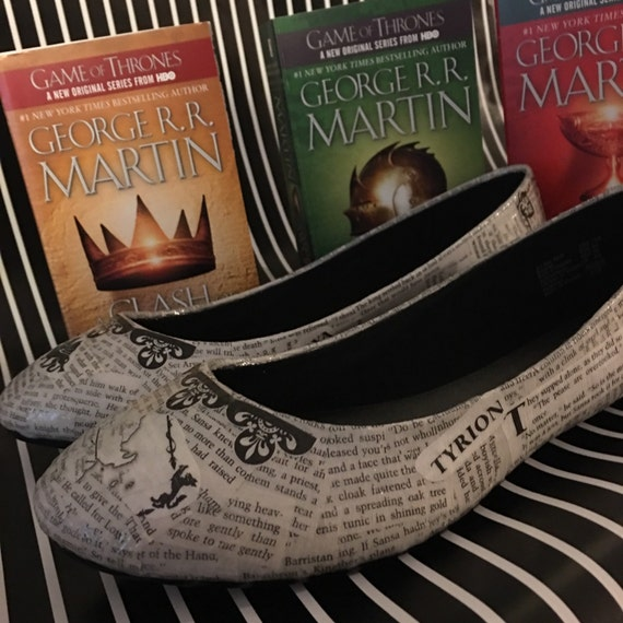 Game of Thrones Themed Ballet Flats