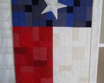 Texas Flag Quilt