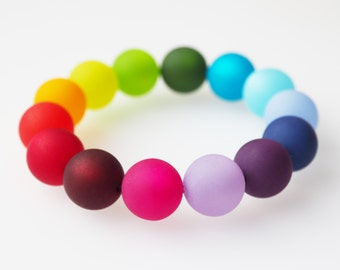 rainbow bracelet polaris bracelet colorful
