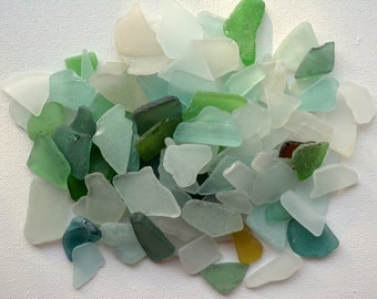 100 Sea Glass, Bulk Beach Glass, Beach Wedding Supplies, Mosaic Supply, Craft seaglass