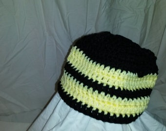 15-36 Bumble bee hat 6-12 months