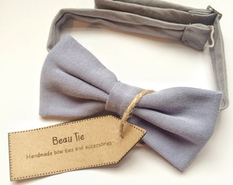 mens bow tie powder blue - blue bow tie - cotton bow tie - blue mens bow tie