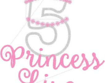Custom Princess Shirt for Liya