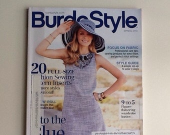 American BurdaStyle Spring 2014 with patterns