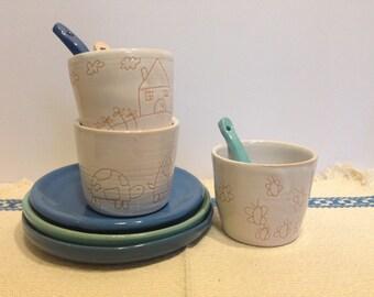 Micro-ceramic handmade Glasses | Handmade ceramic glasses