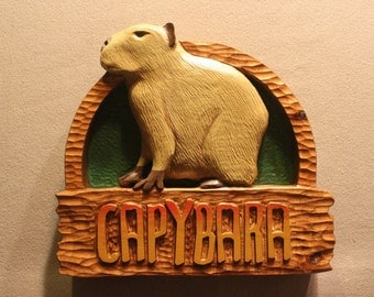Custom signs | Carved wood signs | Animal signs | Zoo signs | Custom carved wooden signs | Handmade signs