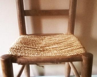 Rustic Vintage Dolls Chair - For Restoration