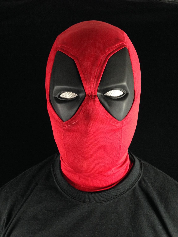Как своими руками сделать маску дэдпула
