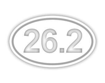 26.2 (marathon) Running decal