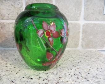 Vintage Paperweight Vase
