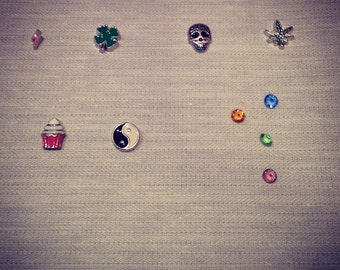 for the lucky locked necklace charms