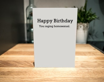 Happy Birthday Card | LGBT, Gay, Lesbian