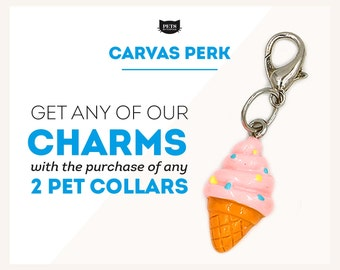 PERK - Buy 2 Pet Collars and Get 1 Charm