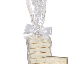 Goats Milk Soap Guest Soap Warm Vanilla  - 6 Individually Wrapped Soaps