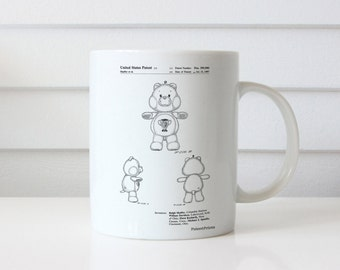 Champ Care Bear Mug, Champ Care Bear Patent, Champ Care Bear Mug, Champ Care Bear Mug, Champ Care Bear Decor PP0676