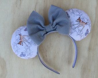 Bambi and Thumper Minnie Mouse Ears