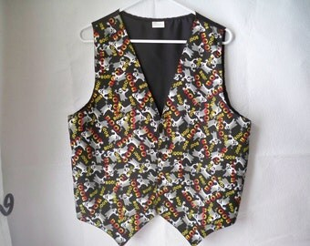 1990s vintage Halloween Costume Unisex Vest labeled size large