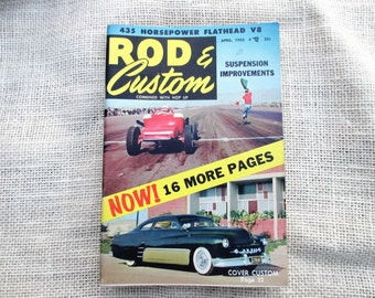"April 1955 Rod & Custom ""Little Pages"" Magazine"