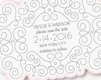 Save the Date cards-set of 10