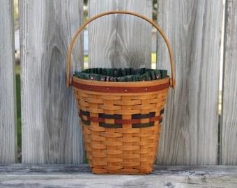 Longaberger Basket-1993 Autumn Harvest Shades of Autumn Basket