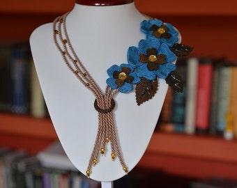 Zulawy - soutache necklace