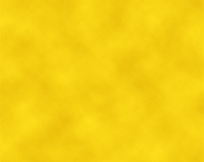 One Yard Camp Peanuts - Blender in Yellow - Charlie Brown Cotton Quilt Fabric - Quilting Treasures - 22613-S (W3159)
