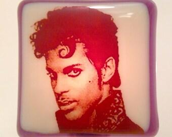 Prince Night Light Fused Glass