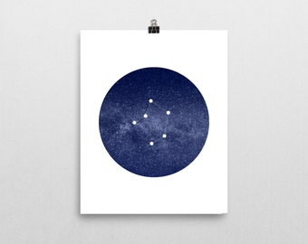 "Libra Constellation • 8""x10"" Printable Art Print"