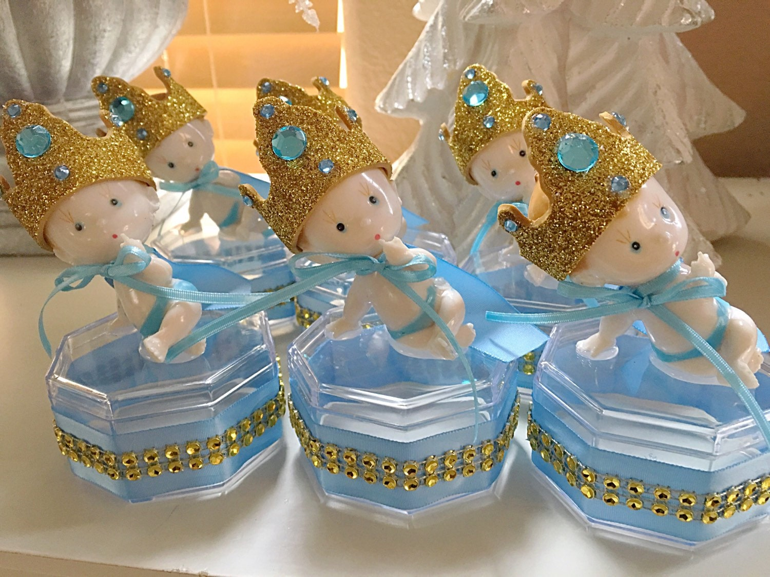 12 royal blue baby shower little prince baby shower little