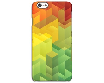 Geometric Coloured Case for iPhone 4/4S 5/5S 5C 6/6S 6/6S Plus SE