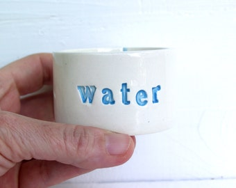 Small Water Bowl.  For Rescued Hamsters, Rats, Gerbils.