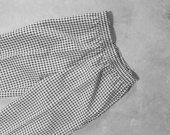 Vintage Black And White Pants