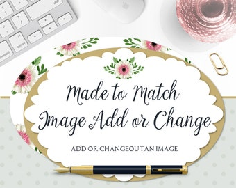 Add or Change Image - Add or Change out an Image From a Premade Set - Customize a Premade Logo, Shop Set, Facebook Set or Business Card