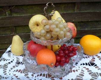 Fruit vintage plastics, artificial fruit, false fruit, table decoration