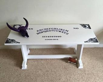 Ouija Board Coffee Table Custom Made Ouija Board Spirit - Ouija coffee table