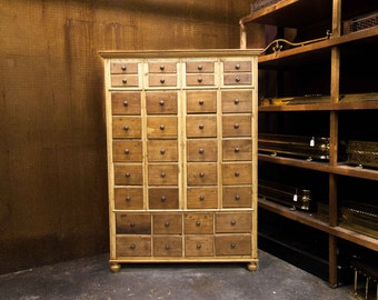 Large French Apothecary Chest