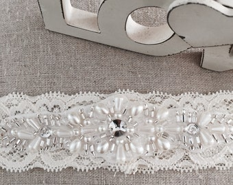 Bridal Garter Collection | Stretch Lace Garter | Applique Garter | Last minute bridal